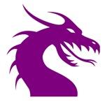 Purple Scary Dragon