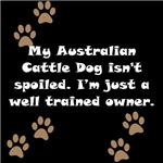Well Trained Australian Cattle Dog Owner