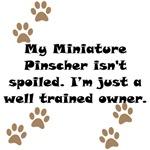Well Trained Miniature Pinscher Owner