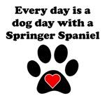 Springer Spaniel Dog Day