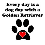 Golden Retriever Dog Day