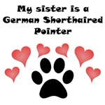 My Sister Is A German Shorthaired Pointer