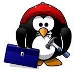 Construction Penguin