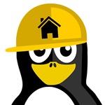 Construction Worker Penguin