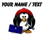 Custom Construction Penguin