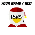 Custom Santa Clause Penguin