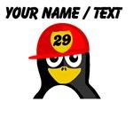 Custom Firefighter Penguin