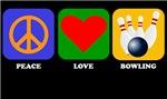 Peace Love Bowling