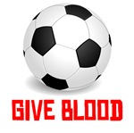 Soccer Give Blood