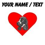 Custom English Springer Spaniel Heart