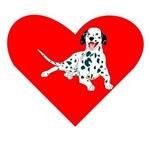 Dalmatian Heart