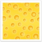 Swiss Cheese Cheezy Texture Pattern