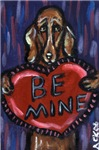 Dachshund Be Mine
