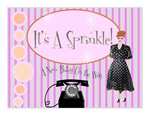 Baby Sprinkle Shower Invitations