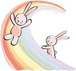 Rainbow Bunnies