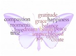 Peace and Gratitude Butterfly