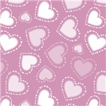 Dotted Pink Hearts