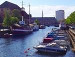 Boat Parking, Photo / Digital Painting