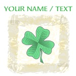 Custom Irish Shamrock