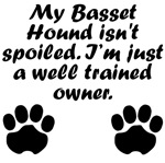 Well Trained Basset Hound Owner
