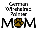 German Wirehaired Pointer Mom