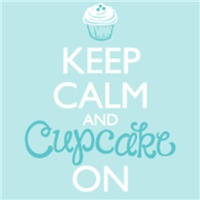 Keep Calm and Cupcake On