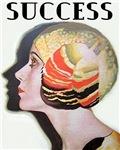 Art Deco Flapper Magazine Cover Roaring 20s