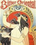 Art Nouveau Advertising Goddess Woman