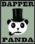 Dapper Panda Bear Victorian Steampunk Kawaii