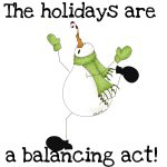 Holiday Balancing Act