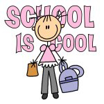 School is Cool (Girl) T-shirts and Gifts