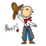 Cowboy Howdy T-shirts and Gifts