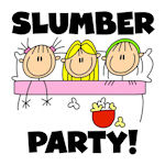 Girls Slumber Party T-shirts and Gifts