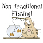 Non Traditional Fishing T-shirts and Gifts