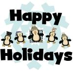Penguin Happy Holidays