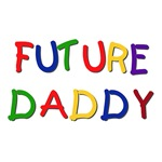 Primary Colors Future Daddy Tshirts and Gifts