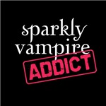 Sparkly Vampire Addict Twilight T-shirts and More!