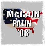 McCain Palin '08 USA
