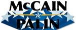 McCain Palin Logo Stars