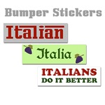 Italian Bumper Stickers