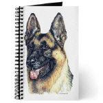 Beautiful German Shepherd Dog Journals