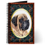 Beautiful Mastiff Journals