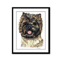 Cairn Terrier Dog Framed Prints and Posters