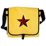 Punk Nautical Star Tote Bags & Messenger Bags