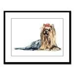 Yorkshire Terrier Yorkie Full Body Designs
