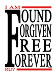 FOUND FORGIVEN FREE FOREVER
