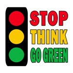 STOP THINK GO GREEN