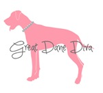 Diamond Collar Great Dane Diva