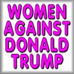 Women against Donald Trump