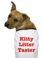Cat Litter Dog - GROSS!